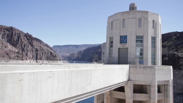 vídeos de stock, filmes e b-roll de hoover dam  - represa hoover