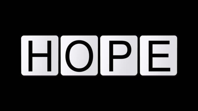 hope - crossword stock videos and b-roll footage