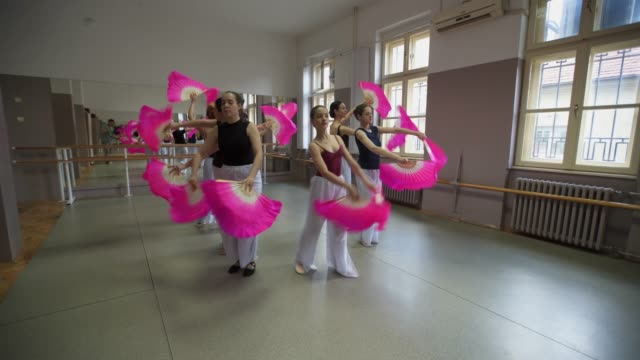 hope you enjoyed your performance - ballet studio stock videos & royalty-free footage