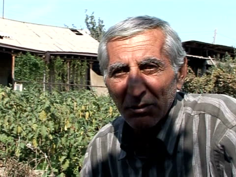 hopes are running high in the impoverished armenian farming village of margara as armenia and turkey prepare to opening their long-sealed common... - eastern european culture stock videos & royalty-free footage