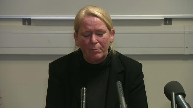 Hopes new evidence could lead to breakthrough in Nikki Allan murder case Sunderland INT Sharon Henderson press conference SOT