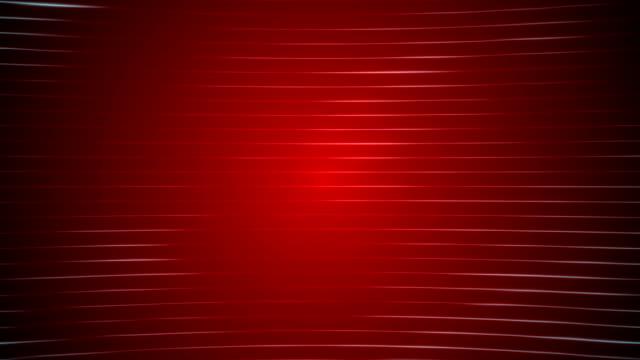 vídeos y material grabado en eventos de stock de líneas frecuentes horizontales de fondo rojo loopable - láser médico