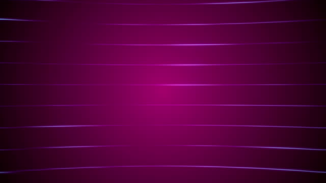 vídeos de stock e filmes b-roll de horizontal lines loopable purple background - purple
