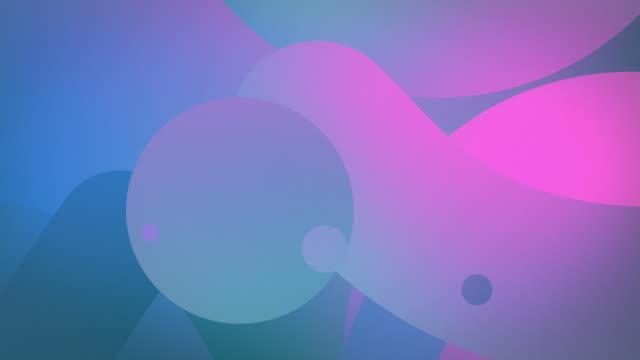 horizontal shapes flow 4k loop - blue pink (with rf audio) - blue background stock videos & royalty-free footage