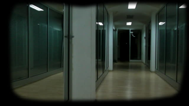 horror hallway with vignette - vignette stock videos & royalty-free footage