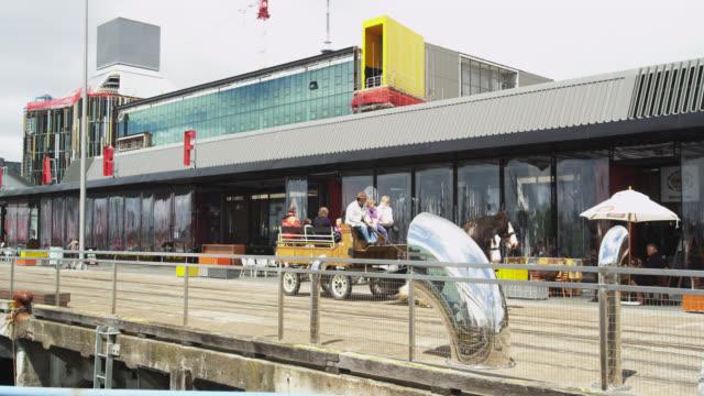 Horse Drawn Vehicles along North Wharf Promenade