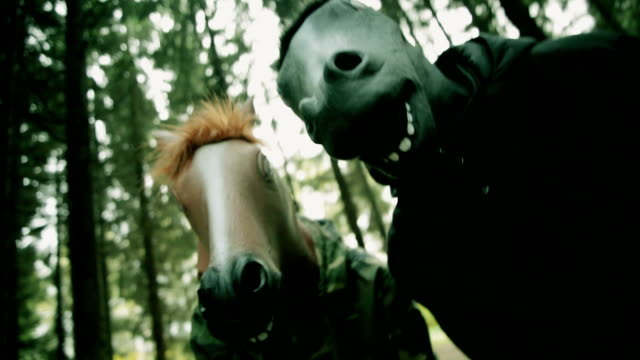 horse head mask - shaking stock videos & royalty-free footage