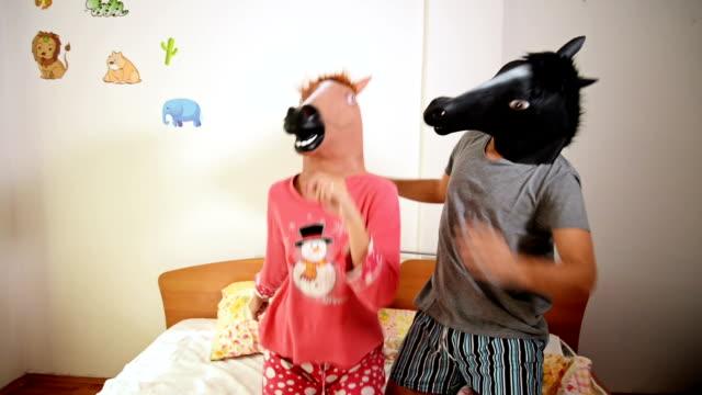 Häst huvud mask