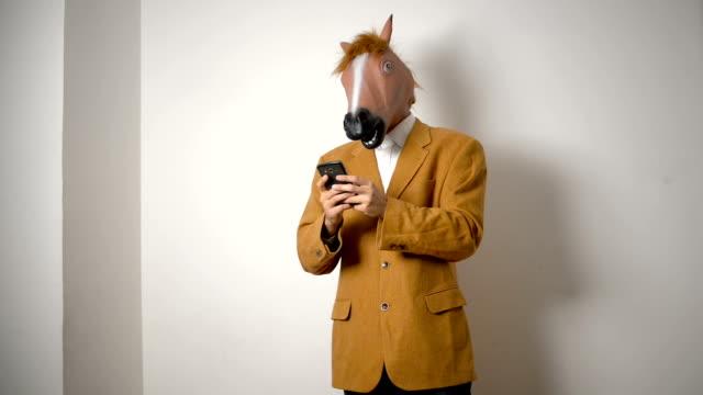 Pferd Kopf Maske