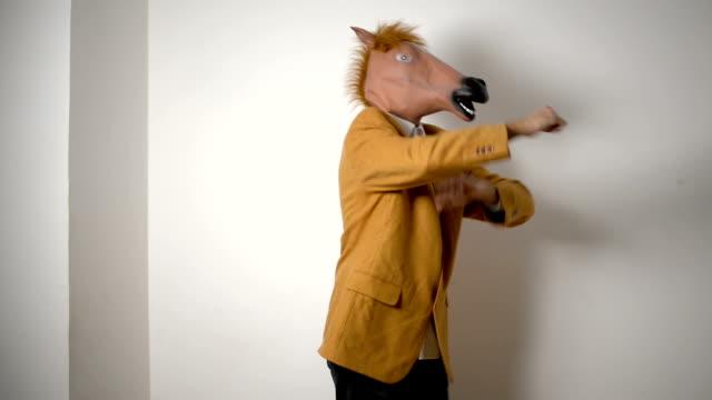 Pferd-Kopfmaske.