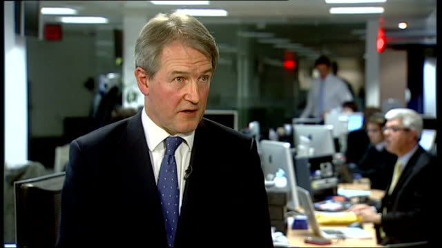 aldi admit contamination of some of their products england int owen paterson mp interview sot made unprecedented decision to test all beef products... - オーウェン・パターソン点の映像素材/bロール
