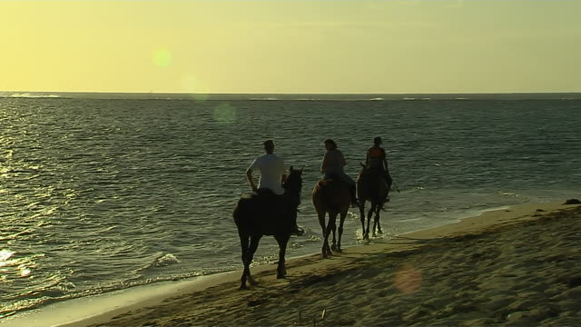 Horse Ride at Month Beach Mauritius