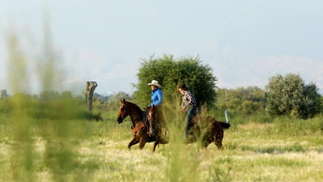 Ruiters op de Ranch