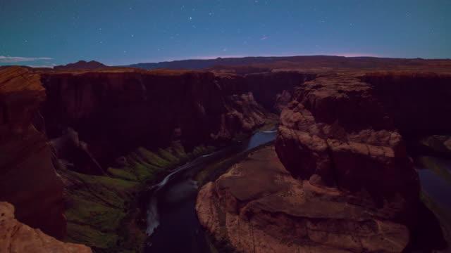 T/L 8K Horseshoe Bend in de nacht