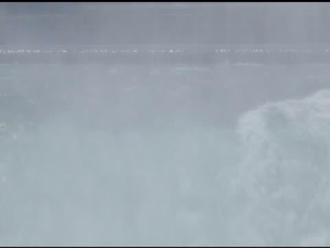 cadute di ferro di cavallo 20-ntsc - fiume niagara video stock e b–roll