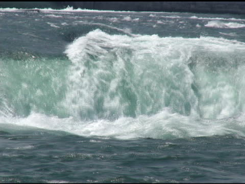 horseshoe falls 6 - ntsc with sound - named wilderness area stock videos & royalty-free footage