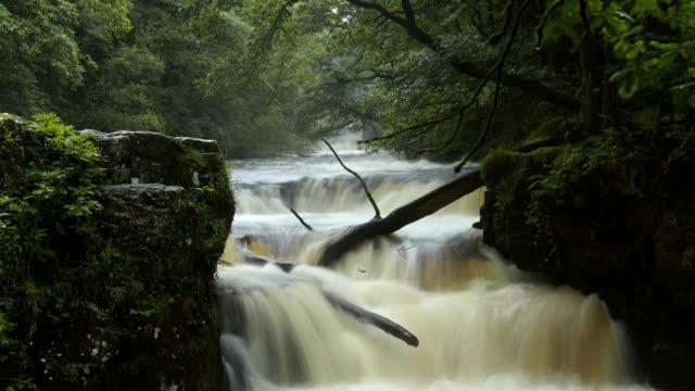 'Horseshoe falls, Wales'