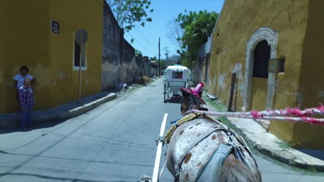 """Hose Carriage Tour of The Golden City"""" of Izamál, Mexico"""