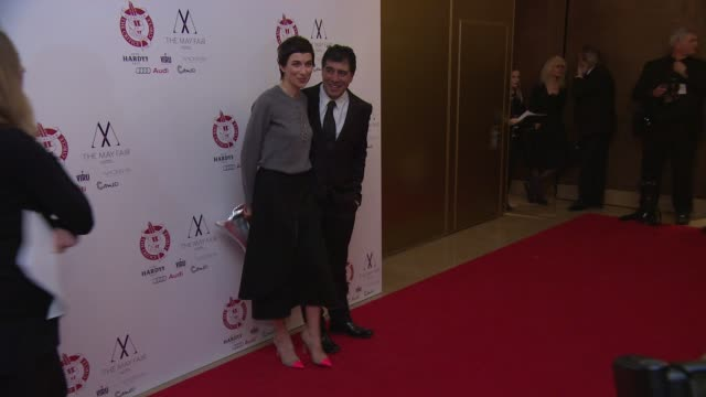 stockvideo's en b-roll-footage met hosein amini at london critics circle awards - criticus