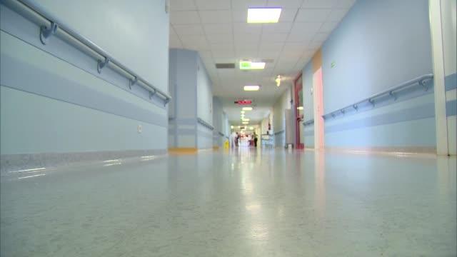 hospital corridor - hospital stock videos & royalty-free footage