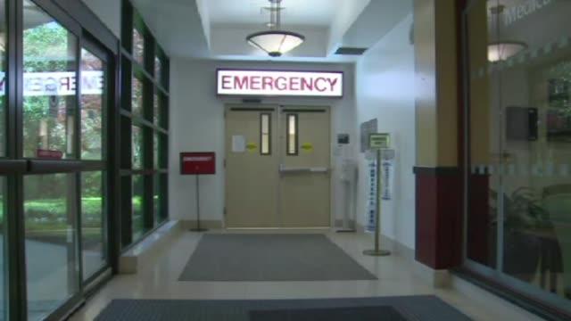 Hospital Emergency Room Entrance on May 08 2012 in Dallas Texas