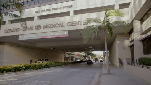 hospital exterior - beverly hills california stock videos & royalty-free footage