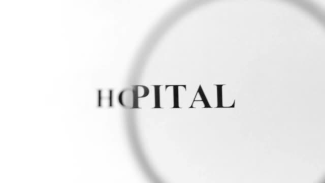 hospital magnifying - risk stock videos and b-roll footage