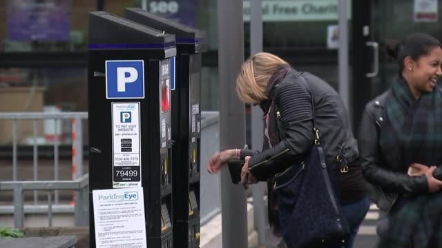 hospital parking costs: critics say government plan to provide free parking will be hard to implement and could cause funding gap; england: ext... - 関税点の映像素材/bロール