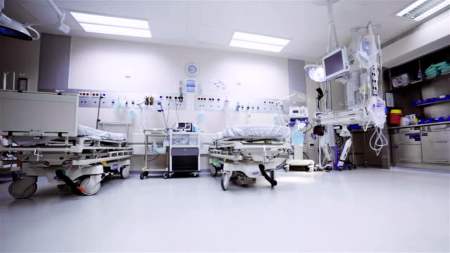 hospital postoperative room - bed furniture stock videos & royalty-free footage