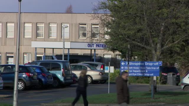 vídeos y material grabado en eventos de stock de a hospital trust involved in a scandal over maternity care has been described as 'inadequate' by a health watchdog shrewsbury and telford hospital... - shrewsbury