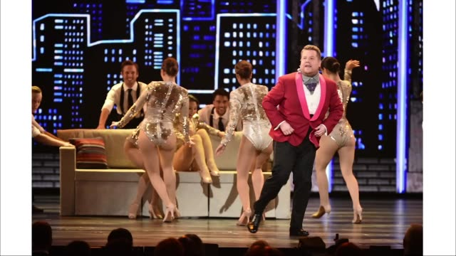 host james corden performs onstage during the 73rd annual tony awards at radio city music hall on june 9, 2019 in new york city. - annual tony awards stock videos & royalty-free footage