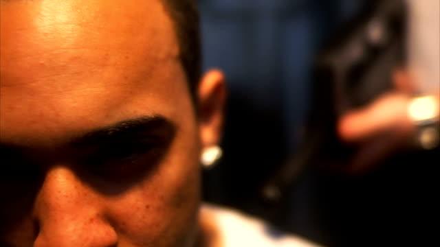 人質のクローズアップ - 誘拐事件点の映像素材/bロール