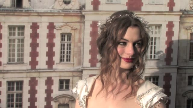 hosted by Valentino Garavani and Natalia Vodianova in aid of the Naked Heart Foundation at the Chateau de Wideville The Fairy Tale Love Ball Arrivals...
