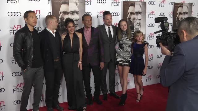 Hostiles premieres at the Chinese Theater in Hollywood at the AFI festival