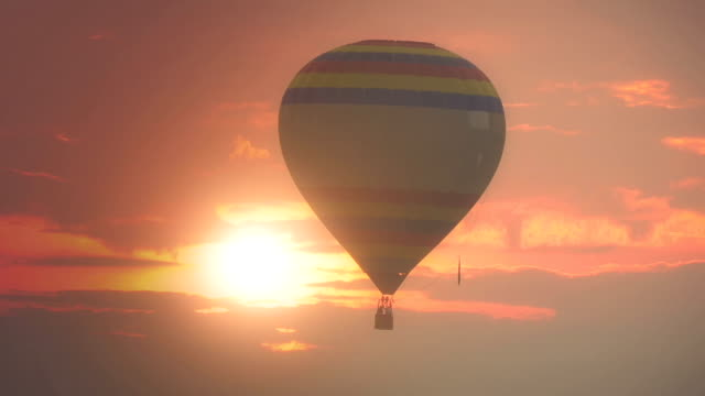 hot air balloon - balloon stock videos and b-roll footage