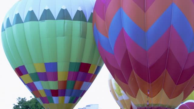 Hot air balloons in Utah County, Utah.