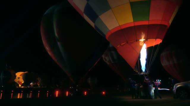 hot air balloons - reenactment stock videos & royalty-free footage