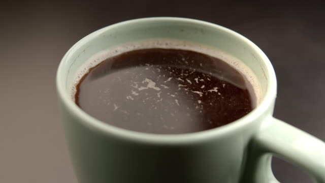 hot black coffee - cup stock videos & royalty-free footage