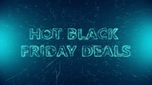 hot black friday deals - capital letter stock videos & royalty-free footage