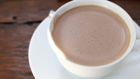 hot chocolate - mug stock videos & royalty-free footage