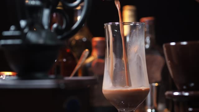 hot chocolate - coffee drink stock videos & royalty-free footage