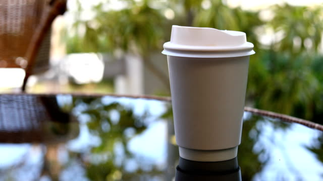 hot coffee drink - cafe macchiato stock videos and b-roll footage