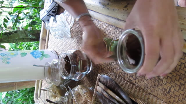 hot coffee in indonesia - cafe culture stock videos and b-roll footage