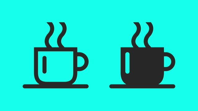 Hot Coffee - Vector Animate