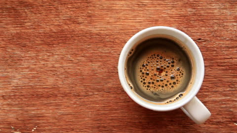 hot coffee - coffee cup stock videos & royalty-free footage
