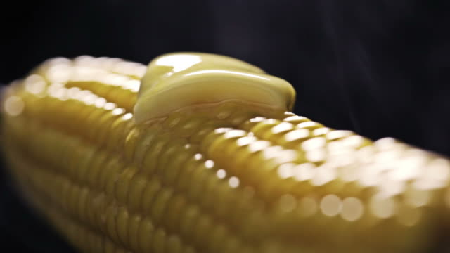 hot corn - melting butter stock videos & royalty-free footage