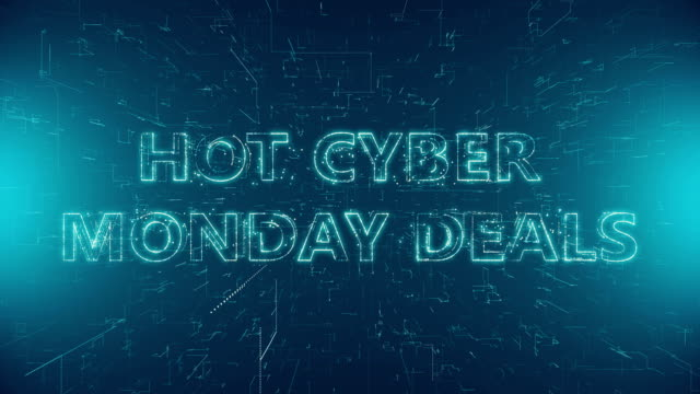 hot cyber monday deals - capital letter stock videos & royalty-free footage