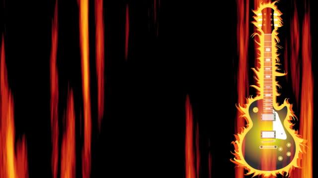 Hot Guitar Background Loop