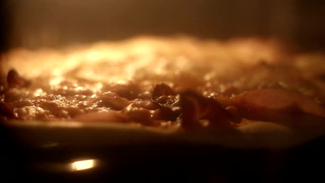 hot homemade pepperoni pizza ready to eat - cheese stock videos & royalty-free footage
