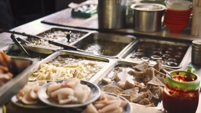 板の温かいスープ - 台北市点の映像素材/bロール